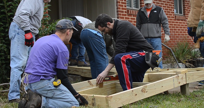 ACTION Group Service Project – Texas Ramps