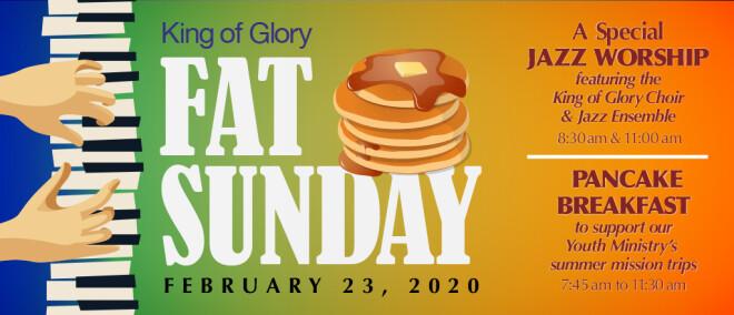 Fat Sunday Jazz Worship and Pancake Breakfast